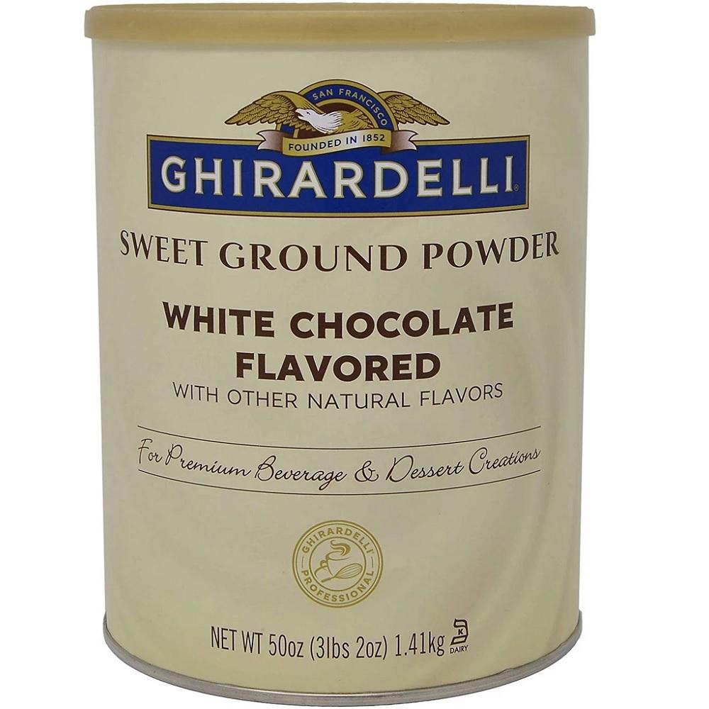 Ghirardelli - Sweet Ground White Chocolate - 3lb - $24.82